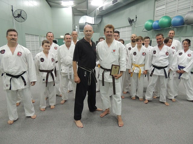 Shihan Martin and Students - My Farewell Presentation