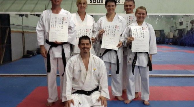 New Registered Black Belts in Japan