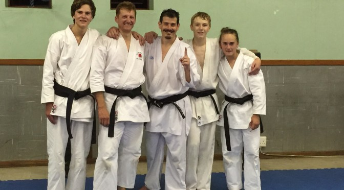 Shodan Grading – March 2015 – We did it!