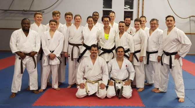 Invited Instructor – Sensei Bernard Buys